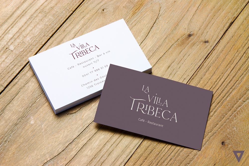 Carte de visite La Villa Tribeca