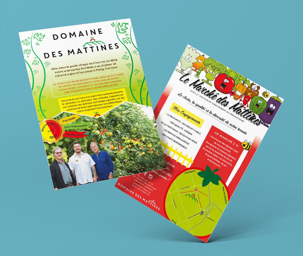 Flyer Marché des Mattines
