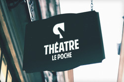 Enseigne Théâtre Le Poche