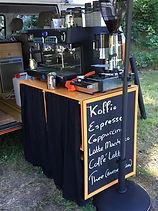 Oranje VW T2 koffiebus mt barista op uw locatie