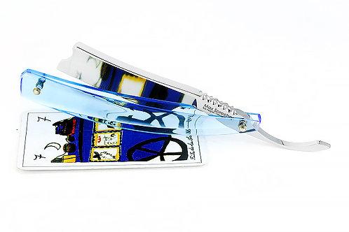 Max Sprecher Razors・7/8+・Barber's Notch・Ice Blue・Made in USA