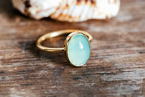 Max Sprecher Jewelry -  Peruvian Opal 18K Yellow Gold Ring