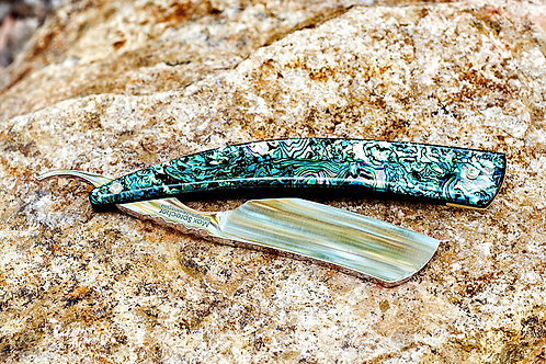 Max Sprecher Custom Razor・7/8・French Point・Abalone・Made in USA