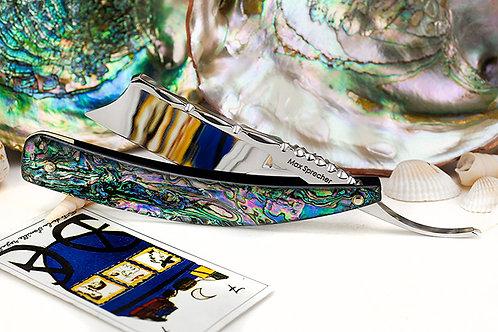 Max Sprecher Razors・9/8-・Spanish Point・Abalone・made in USA
