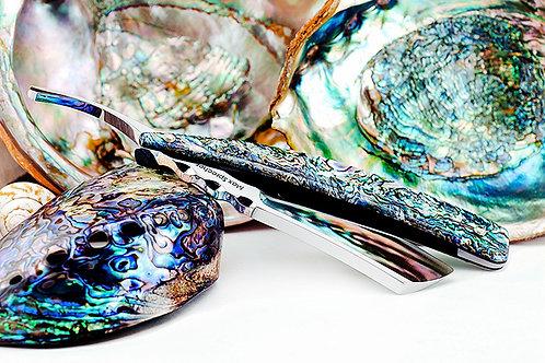 Max Sprecher Razors・8/8・Midi・Irish Point・Abalone・Made in USA