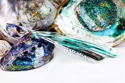 7/8・Irish Point・Baby Aqua Glass