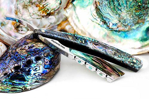 Max Sprecher Razors・8/8・Midi・Abalone・Straight Point・Made in USA