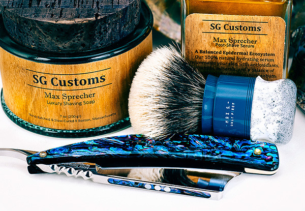 SG Customs Max Sprecher Shave Of The Day