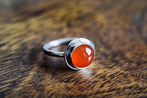 Max Sprecher Jewelry - Carnelian Silver Ring