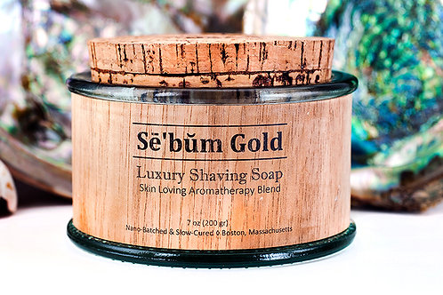 Sē'bŭm・Gold・Shaving Soap