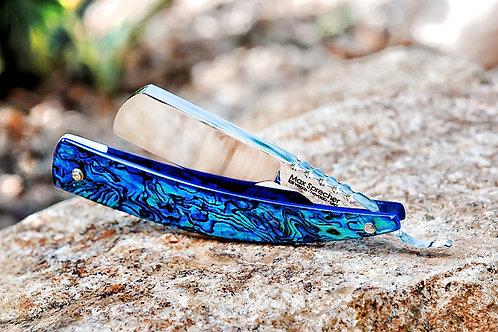 Max Sprecher Custom Razor・Mini Razor・Irish Point・Blue Paua・Made in USA