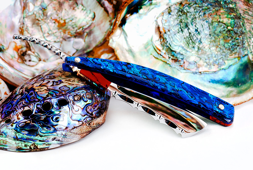 8/8・Irish Point・Blue Paua