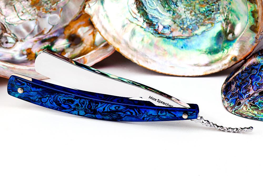 7/8・Round Point・Blue Paua