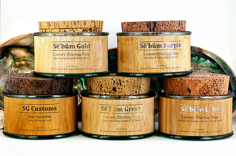 Sē'bŭm Gold Latte, Green, Gold, Purple and SG Customs