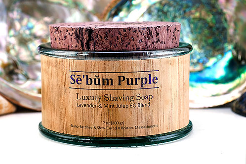 Sē'bŭm・Purple・Shaving Soap