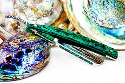 6/8・Irish Point・Green Abalone