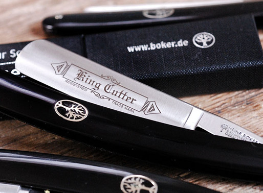 Boker 'King Cutter' straight razor