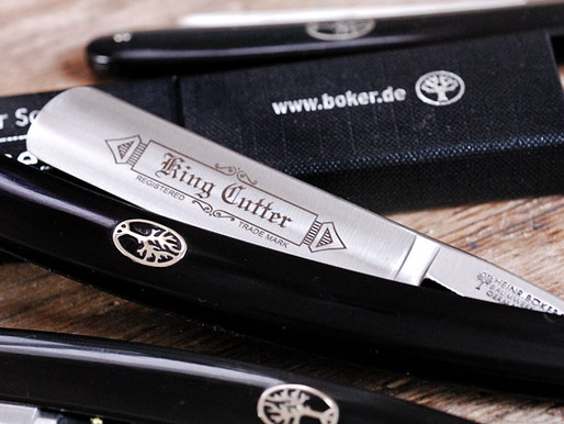 Boker 'King Cutter' straight razor