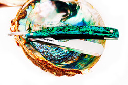6/8・Round Point・Green Abalone