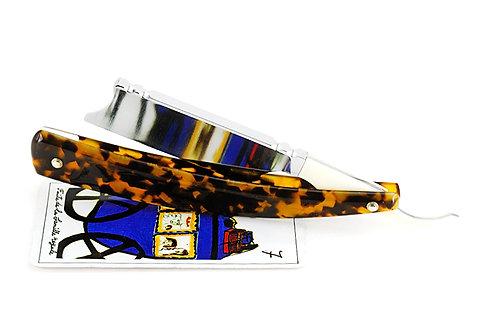 Max Sprecher Custom Razors・8/8・Spanish Point ・Camel Bone Covered Tang・Made in USA