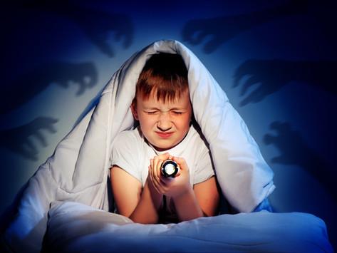 Histoire : J'ai peur de dormir seul !