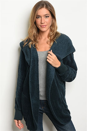 Teal Fleece Jacket