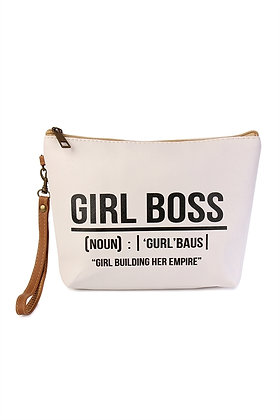 Girl Boss Cosmetic Bag