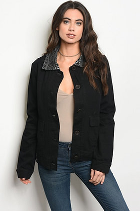 Black Tribal Jacket