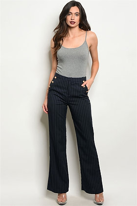 Navy Stripes Pants