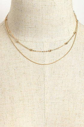 Double-Chain Necklace
