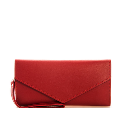 Burgundy Envelope Wallet