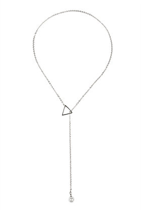 Pearl Lariat Necklace