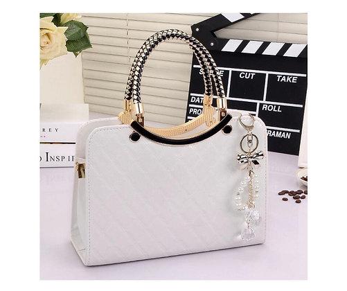 Vogue Star Handbag - White