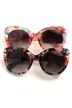 Floral Sunglasses