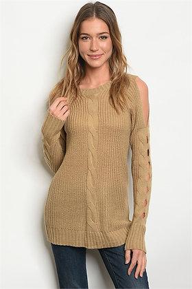 Mocha Knit Sweater