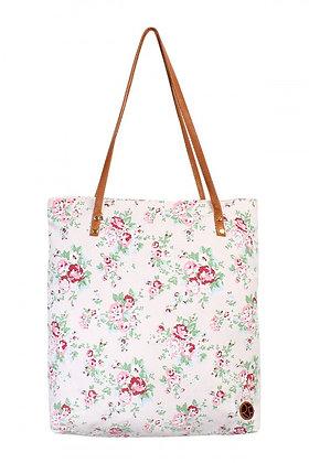 Blush Floral Print Bag