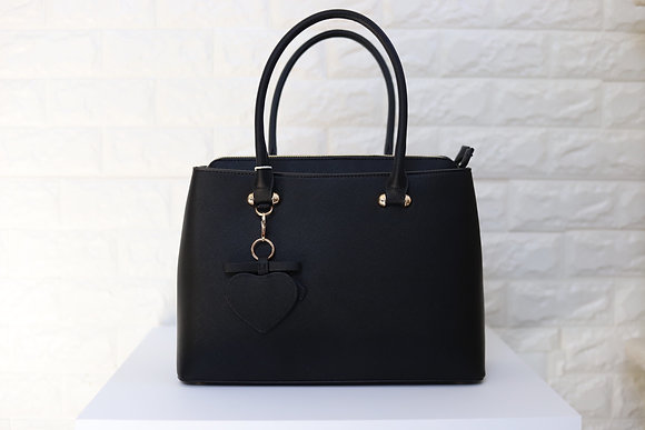 Modern Trendy Satchel - Black