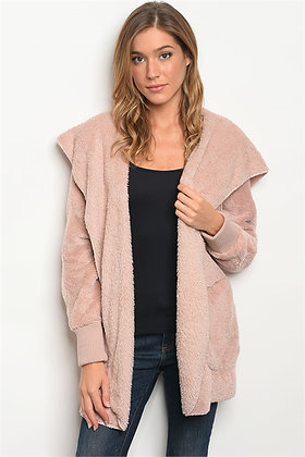 Blush Fleece Jacket