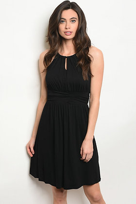 Black Keyhole Dress