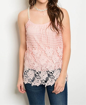 Light Pink Pearl Top