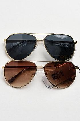 Chic Aviator Sunglasses