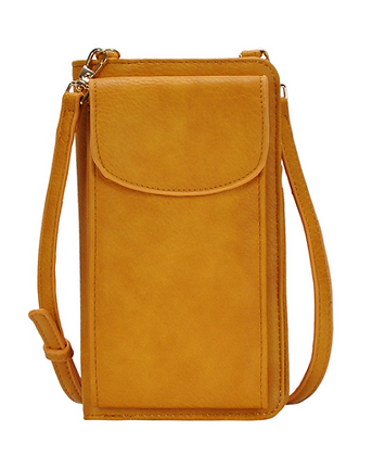 Mustard Travel Wallet