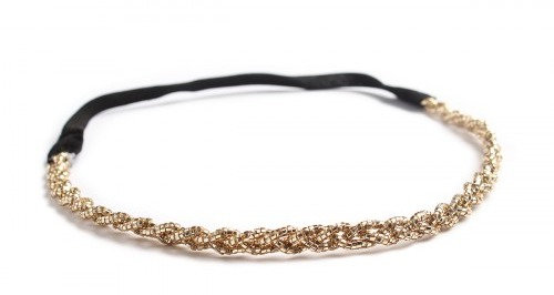 Gold Hair Band