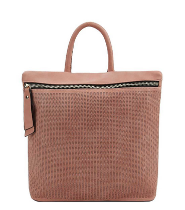 Mauve Convertible Backpack