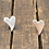 Thumbnail: Sweeping Heart Smooth Sterling Silver Earrings