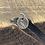 Thumbnail: Bee Sterling Silver Pebble Charm