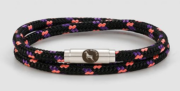 Boing Blackberry Skinny Double Wrap Bracelet