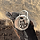 Thumbnail: Fox Sterling Silver Pebble Charm