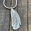 Thumbnail: Feather Sterling Silver Necklace