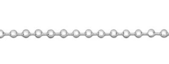 Sterling Silver Fine Ball Chain